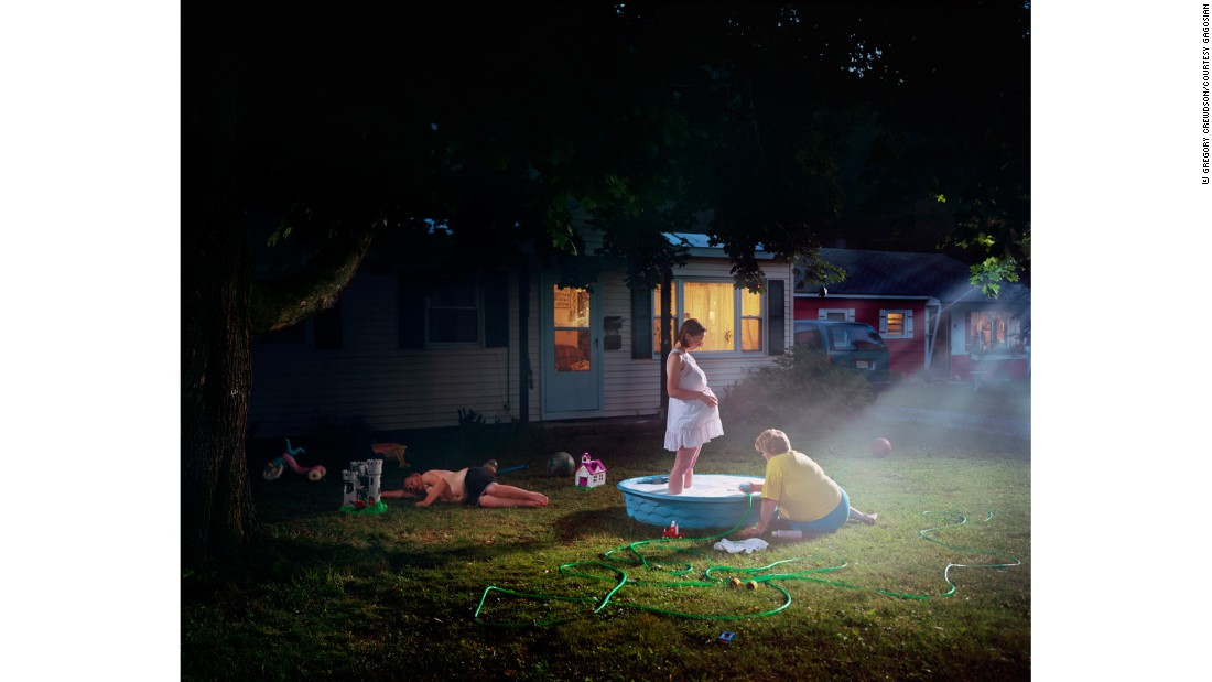 This sense of eeriness is present throughout Crewdson's oeuvre, most of which is set in American towns.
