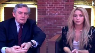 """Shakira: """"Buscamos que en el 2030 toda la poblaci?n infantil tenga educaci?n"""""""