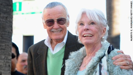 Comic book legend Stan Lee and his wife Joan Lee were devoted to each other.