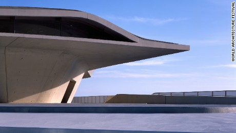 The Salerno Maritime Terminal in Salerno, Italy by Zaha Hadid Architects