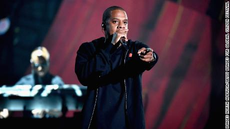 Jay Z performs at the 2014 Global Citizen Festival on September 27, 2014 in New York City.