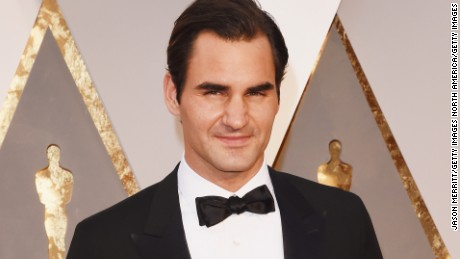 HOLLYWOOD, CA - FEBRUARY 28:  Tennis player Roger Federer attends the 88th Annual Academy Awards at Hollywood & Highland Center on February 28, 2016 in Hollywood, California.  (Photo by Jason Merritt/Getty Images)