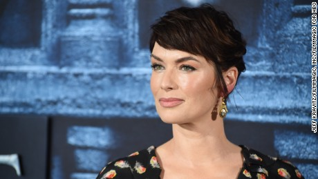 "Actress Lena Headey attends the premiere for the sixth season of HBO's ""Game Of Thrones"" at TCL Chinese Theatre on April 10, 2016 in Hollywood City."
