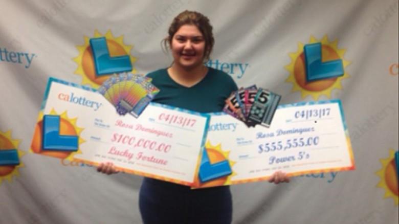A California teen wins the lottery. Twice. In one week