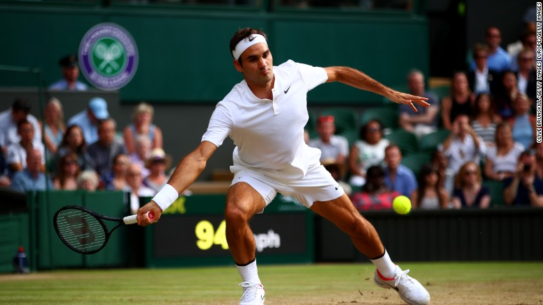 Federer is ranked world No.5