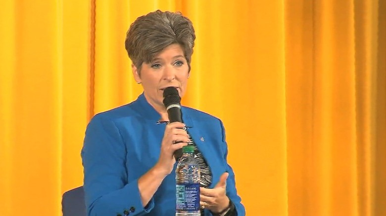 Sen. Ernst grilled about health care