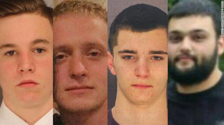 Massive search for 4 missing Pennsylvania men
