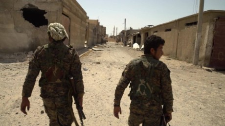 Exclusive: on the front lines inside the old city of Raqqa