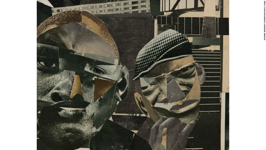 """Pittsburgh Memory"" (1964) by Romare Bearden"