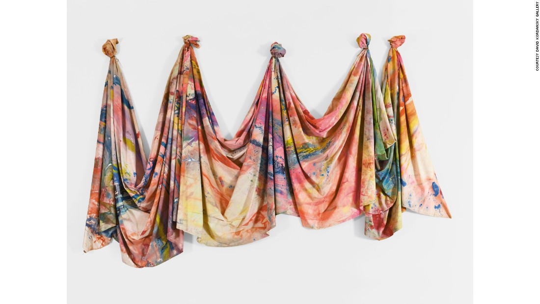 """Carousel Change"" (1970) by Sam Gilliam"