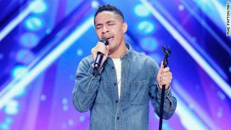 AMERICA'S GOT TALENT -- Auditions Episode 1206 -- Pictured: Brandon Rogers -- (Photo by: Trae Patton/NBC)