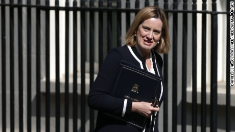"Amber Rudd said the report ""gives us the best picture"" ever of extremist funding in the UK."