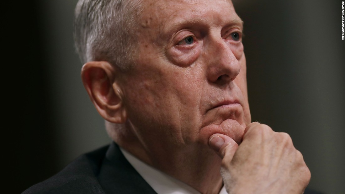 Mattis to North Korea: Stop actions that could lead to