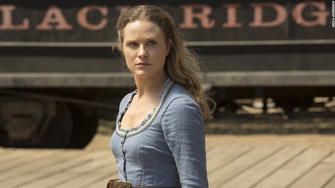 Evan Rachel Wood stars in HBO's 'Westworld.' The show lead in total nominations with 22, including one for outstanding drama series.