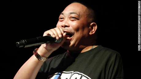Fresh Kid Ice of 2 Live Crew performs at a Rock The Vote anniversary concert in 2015.