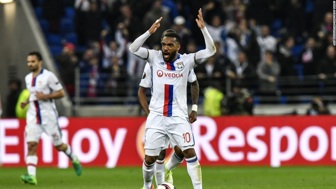 Alexandre Lacazette starred for Lyon last season, scoring 37 goals in 45 appearances for the French side. The 26-year-old boasted an eye catching record of 10 penalties converted in Ligue 1 and, with Arsenal's conversion rate from the spot last year (66%) in mind, Arsene Wenger will be hoping that the club's record signing can replicate his previous form.