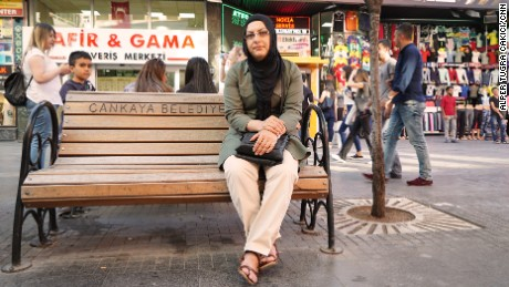 Demet Akbulut's husband felt compelled to join his neighbors in the streets that night.