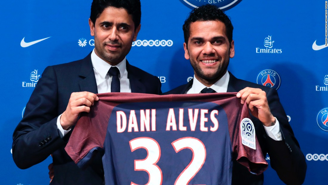 Alves looked set for a reunion with former Barcelona manager Pep Guardiola at Manchester City, but instead opted to join a PSG side determined to clinch the Ligue 1 trophy once again. The 34-year-old left Juventus following a one-year spell with the club, where he averaged 2.6 successful tackles per game.