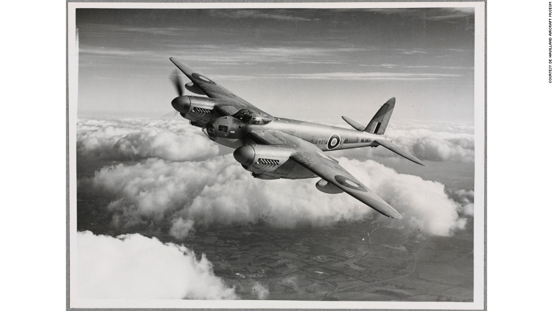 One of the fastest and highest-flying planes of WWII, the British de Havilland Mosquito, was made of plywood.