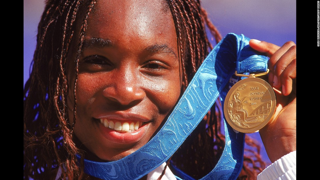 Just a few months after her Wimbledon breakthrough, Venus won the US Open and an Olympic gold medal in Sydney. In 2002, she became No. 1 in the world for the first time in her career.