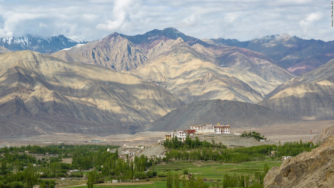 "Climate change is making Ladhak <a href=""http://www.thehindu.com/sci-tech/energy-and-environment/%E2%80%98Climate-change-is-changing-landscape-of-Ladakh%E2%80%99/article10233640.ece"" target=""_blank"">even drier</a>, leaving farmers without water in the crucial planting months of April and May, right before the glaciers start to melt in the summer sun."