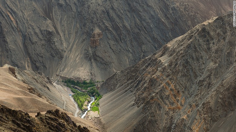 人造冰川帮助干旱地区蓄水 - wuwei1101 - 西花社