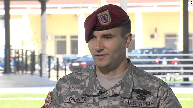 Soldier gives Medal of Honor to brigade