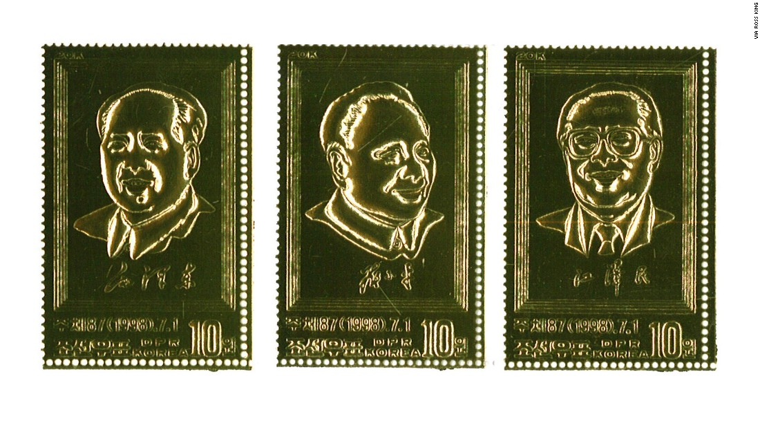 Hoping to attract the world's collectors, the reclusive country often issues stamps for global events, including the Hong Kong handover...