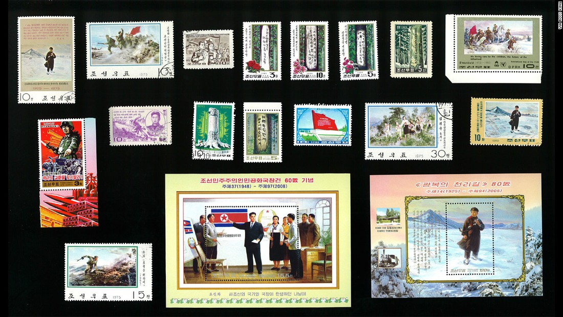 Producers -- in North Korea and elsewhere -- are increasingly turning to China, which accounts for about one-third of the world's 60 million stamp collectors.