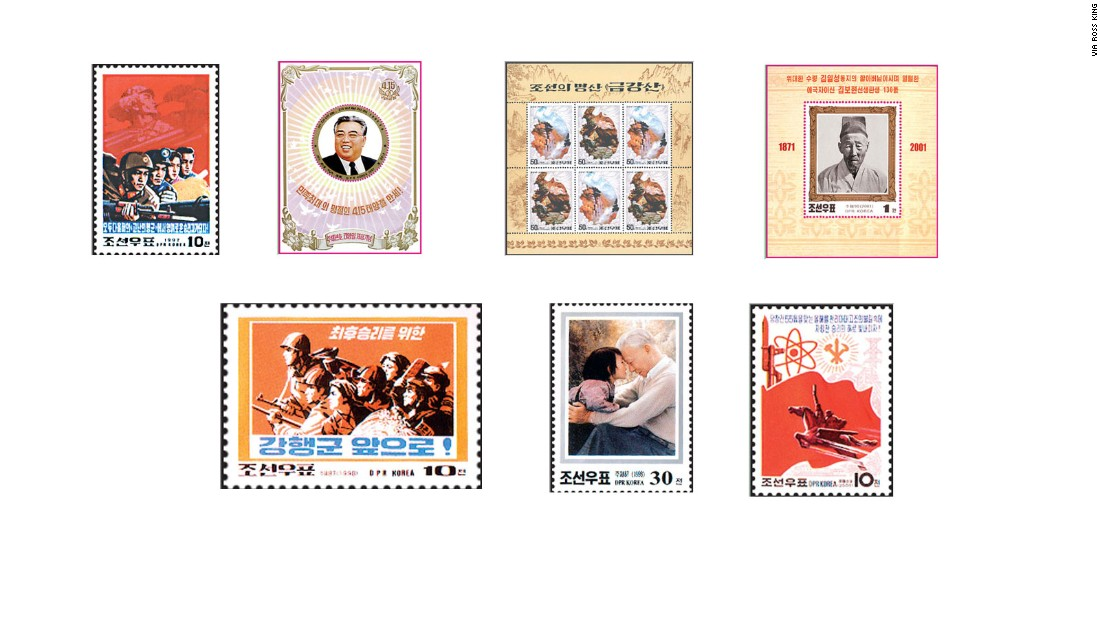 "The head of Asia studies at the University of British Columbia, Ross King, believes that the country is -- in terms of the number of stamps it prints each year -- ""right up there with the United States as one of the most prolific stamp-issuing authorities."""