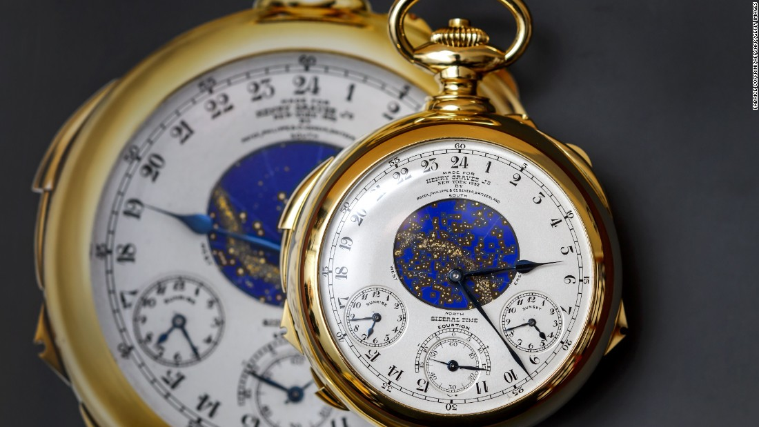 "Today, Swiss luxury brand Patek Philippe is one of the most respected names in the watchmaking, and one of the best-performing brands at auction. In 2014, they set the record for the most expensive watch to sell at auction when its <a href=""http://edition.cnn.com/2014/11/12/business/24-million-gold-watch-sothebys-record-patek-philippe/index.html"">Henry Graves Supercomplication</a> watch sold for $24.4 million at at Sotheby's in Switzerland."