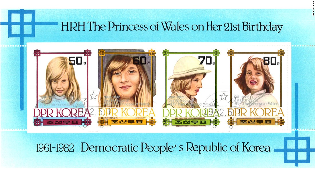 The world's stamp market is changing, and North Korean designs are evolving to reflect shifting demand. In the 1980s, images of Princess Diana and German tennis star Steffi Graf were to used attract Western collectors. Today, China is the main target, according to King.