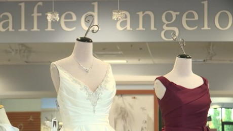 alfred angelo wedding dress closings cnnmoney_00002225.jpg