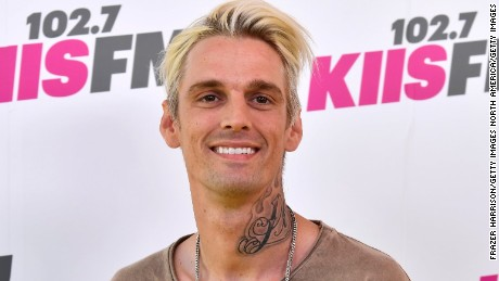 CARSON, CA - MAY 13:  Aaron Carter   arrives at the 102.7 KIIS FM's 2017 Wango Tango at StubHub Center on May 13, 2017 in Carson, California.  (Photo by Frazer Harrison/Getty Images)