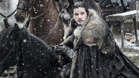 Kit Harington. Jon Snow. Game of Thrones. Season 7, episode 1