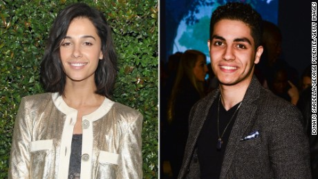 "Naomi Scott and Men Massoud have been cast to star in ""Aladdin."""