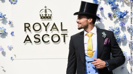 ASCOT, ENGLAND - JUNE 20:  Mariano Di Vaio on day 1 of Royal Ascot at Ascot Racecourse on June 20, 2017 in Ascot, England.  (Photo by Stuart C. Wilson/Getty Images for Longines)