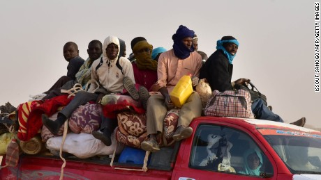 The dark, dangerous journey from Niger to Libya