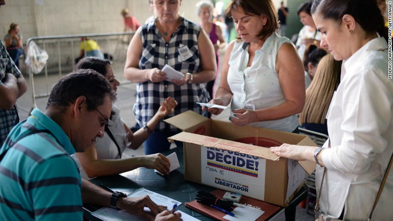 Venezuela's opposition claims victory
