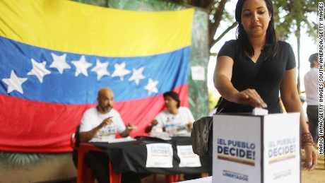 What next after Venezuela's symbolic referendum