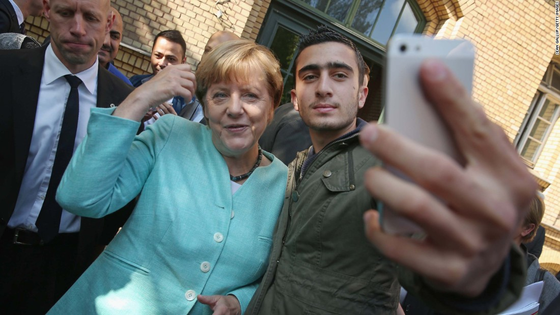 Merkel Rules Out Limiting Number Of Refugees In Germany