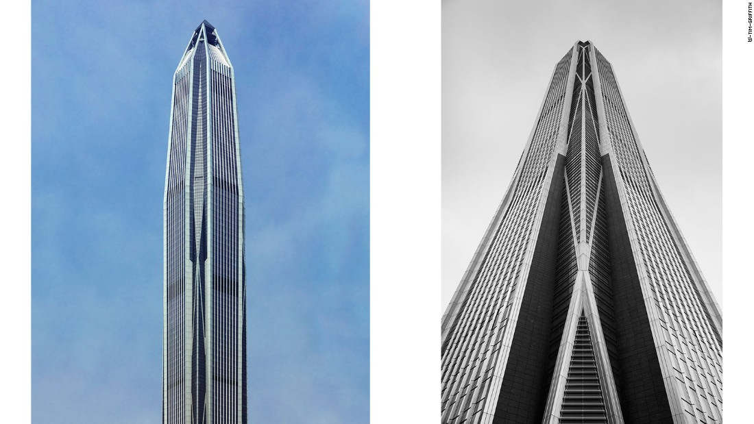 Designed by American firm KPF, the tower is home to Ping An Insurance, a pillar of Shenzhen's fast-growing financial services sector.