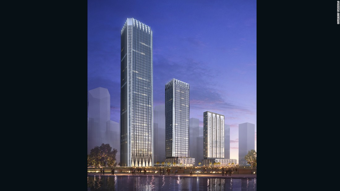 The Qianhai Financial Center will be one of the newest landmarks in western Shenzhen.