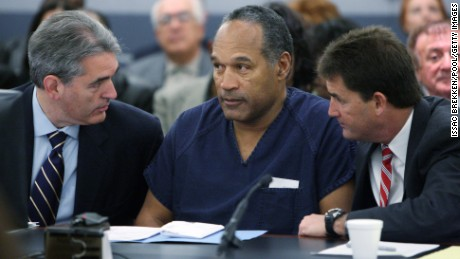 O.J. Simpson's rise and fall, from football star to prisoner