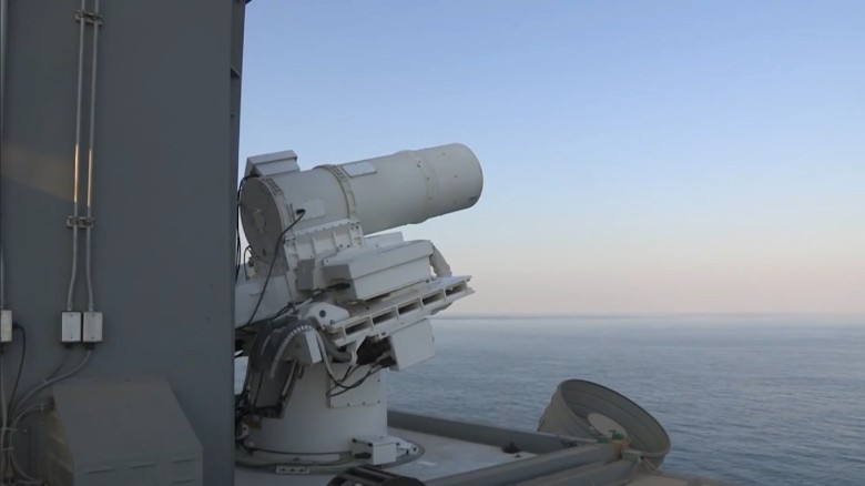 Navy Laser Weapon Can Hit Missiles at Speed of Light