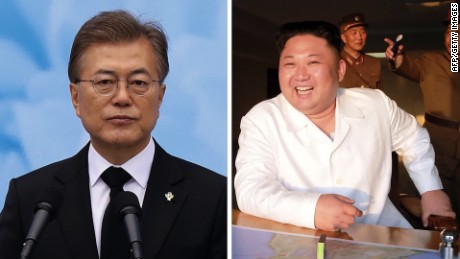 north korea, south korea leaders