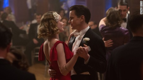 Dominique McElligott, Matt Bomer in 'The Last Tycoon'