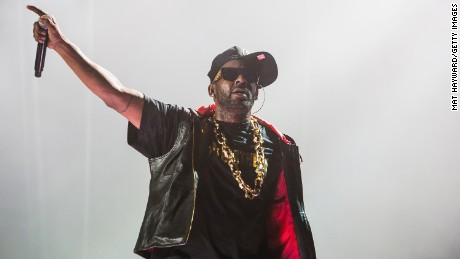 R. Kelly performs on stage at Xfinity Arena on February 7, 2015 in Everett, Washington.
