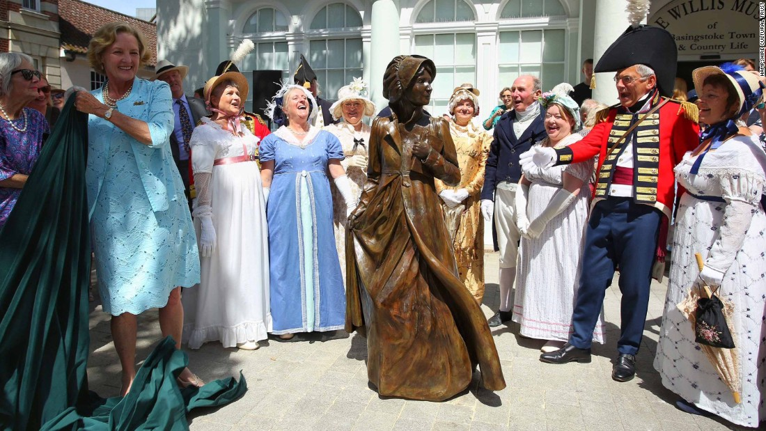 'World First' Statue Of Jane Austen To Be Unveiled
