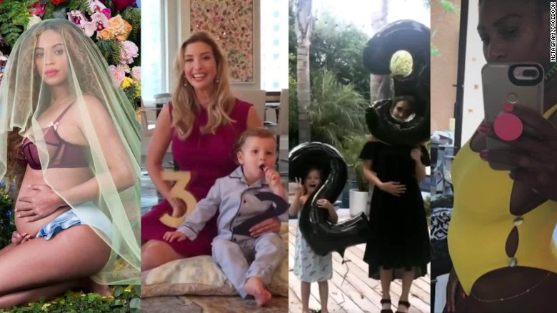 Fun ways celebs reveal they're pregnant